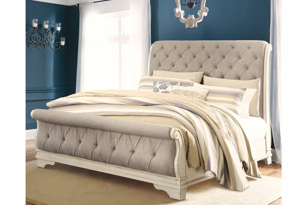 ashley furniture presidents day sale queensized bed