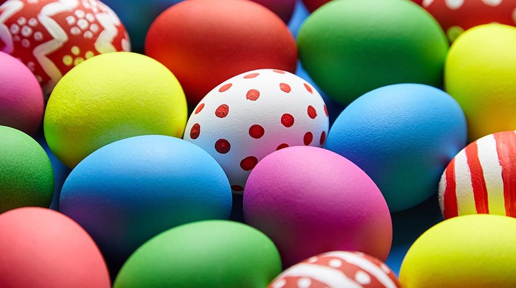 easter egg sales