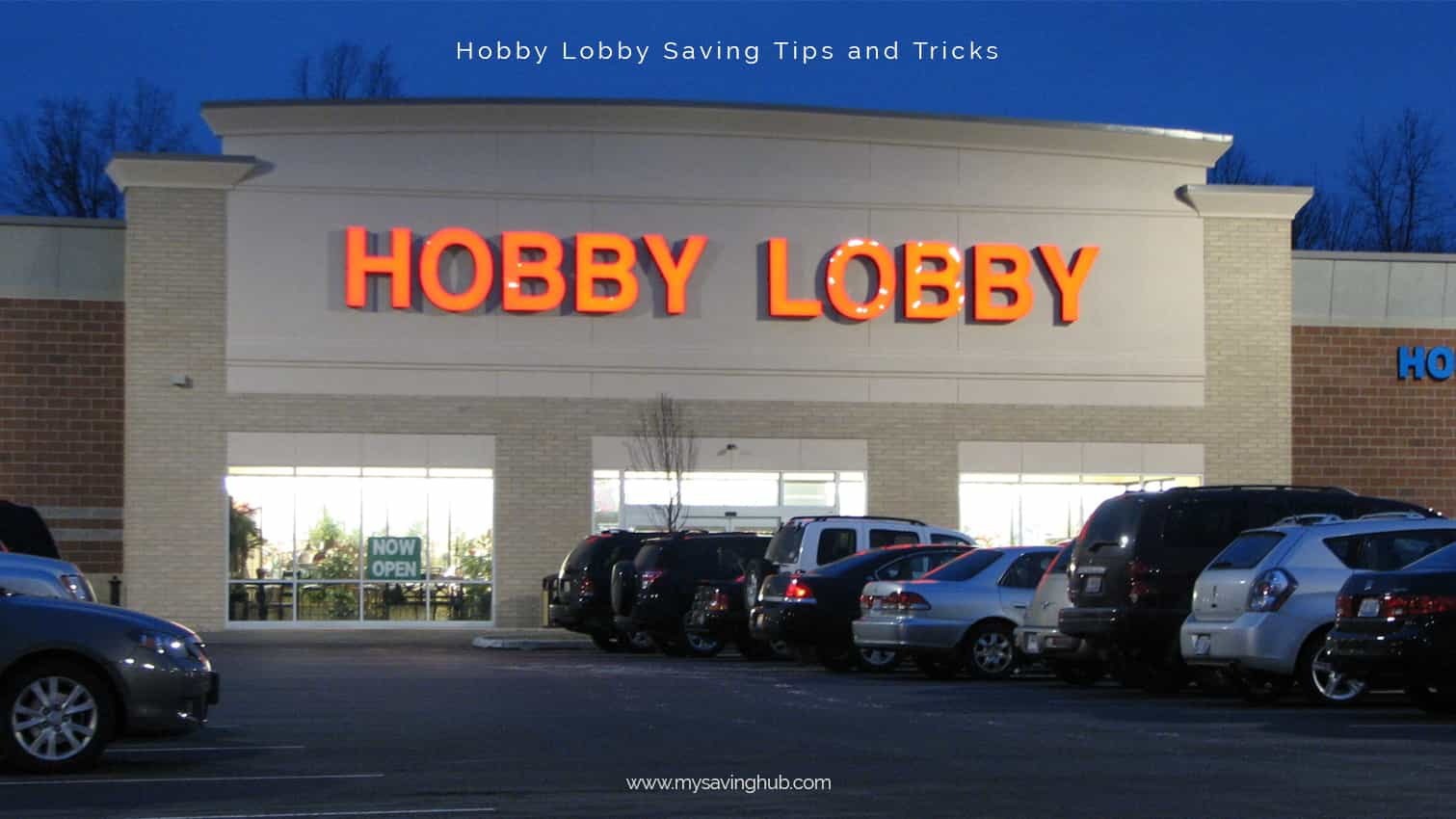 hobby lobby online coupon
