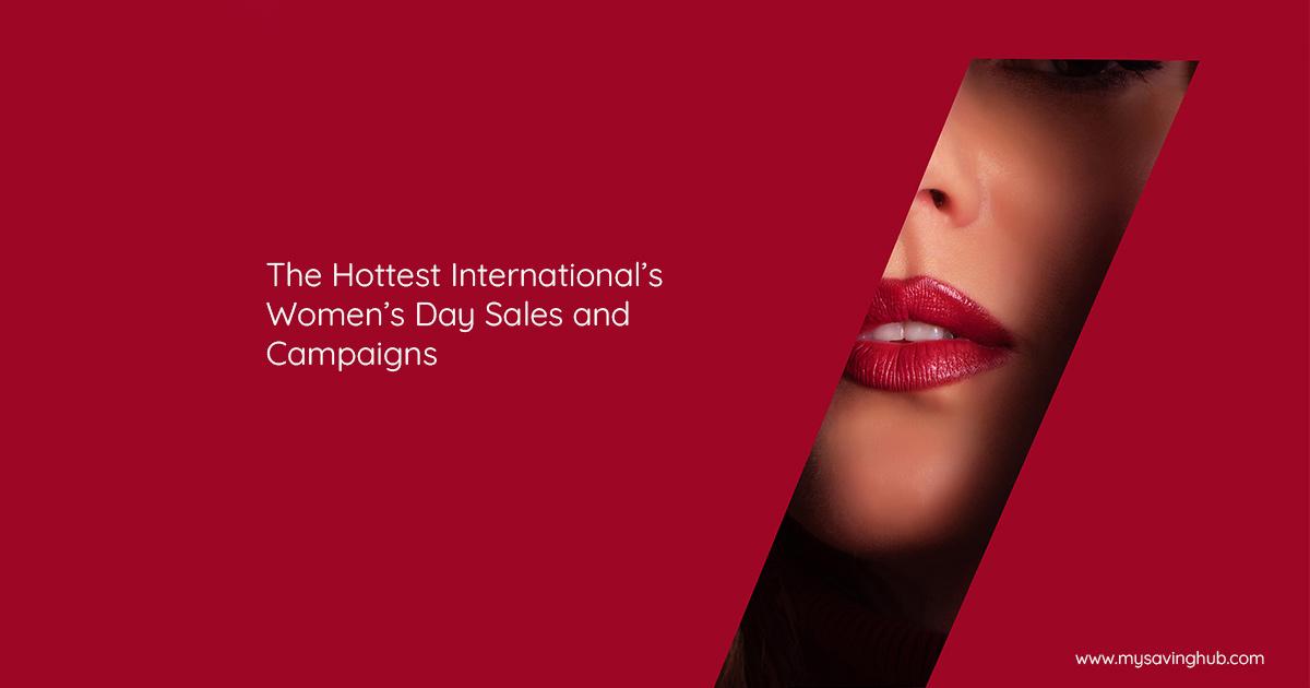 international womens day sales