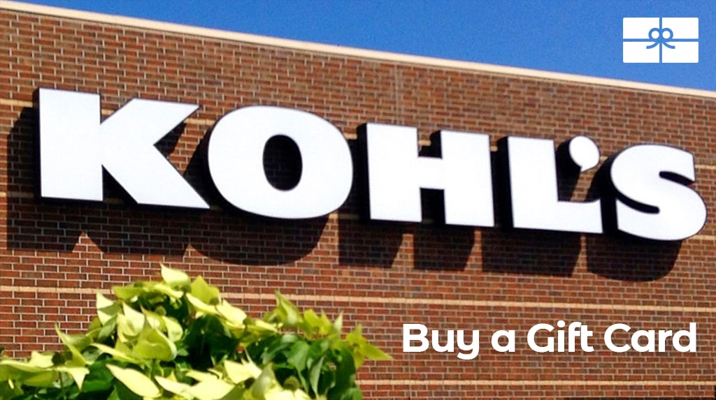 kohls gift card coupon