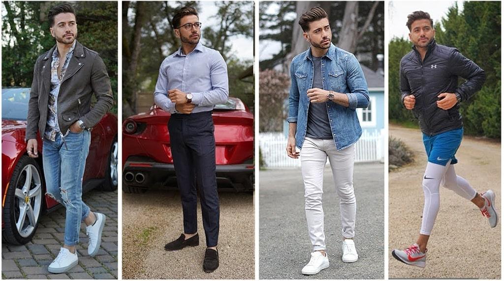 mens casual spring fashion