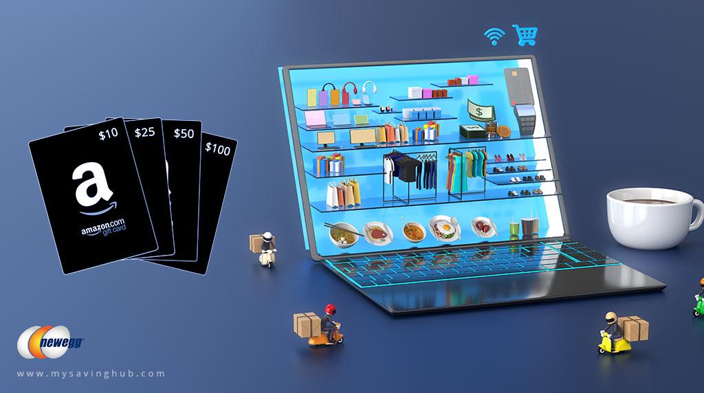 newegg gift card amazon