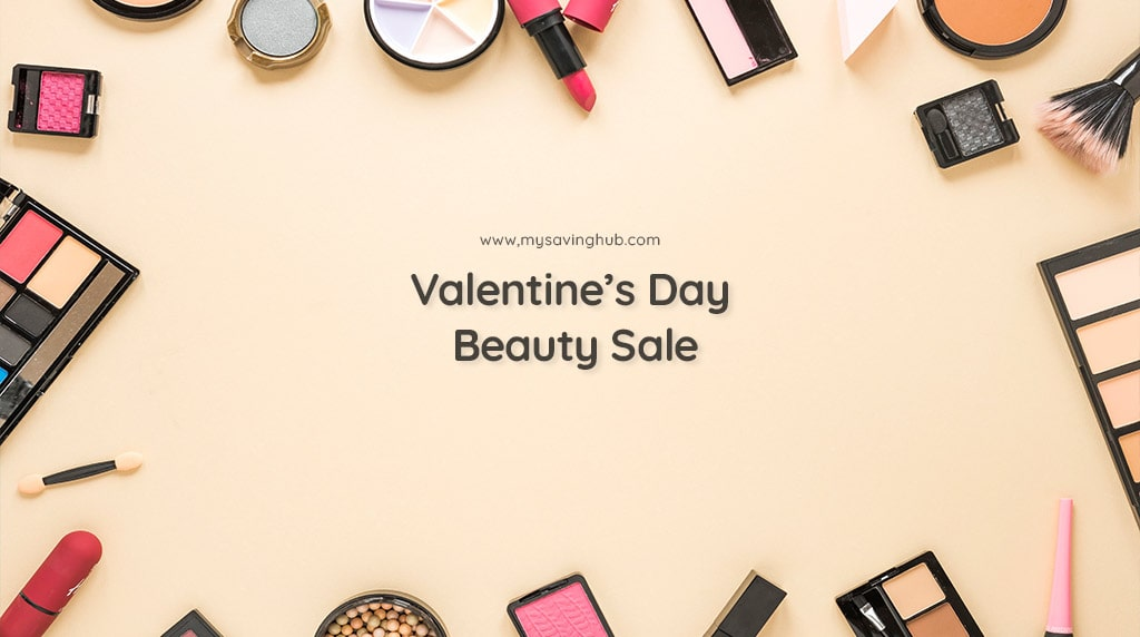valentines day beauty sale