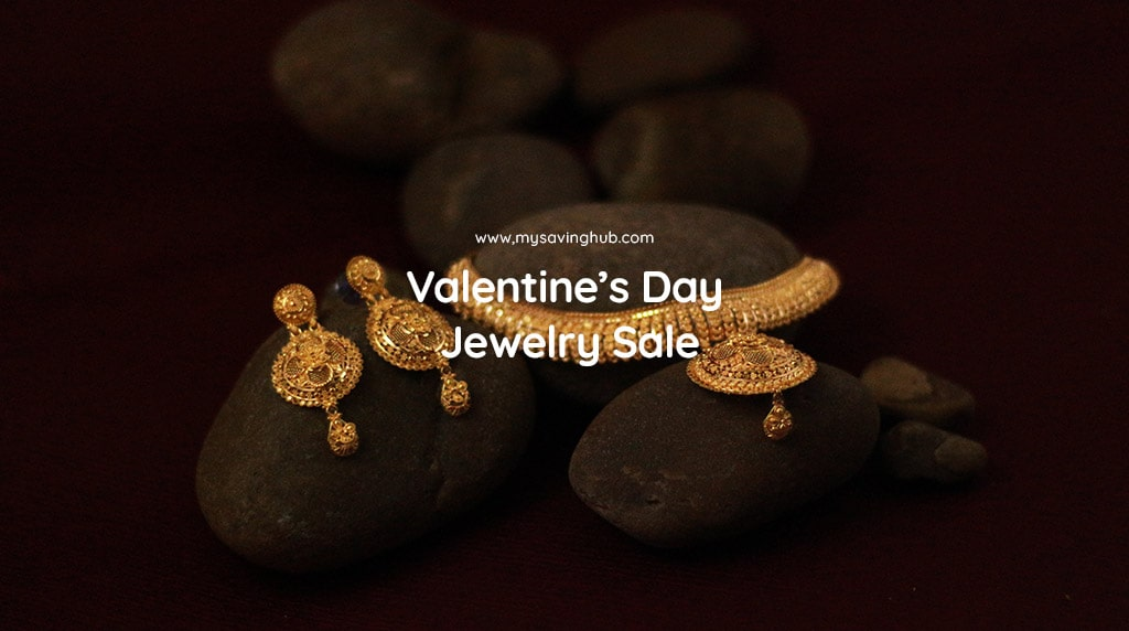 valentines day jewelry sale
